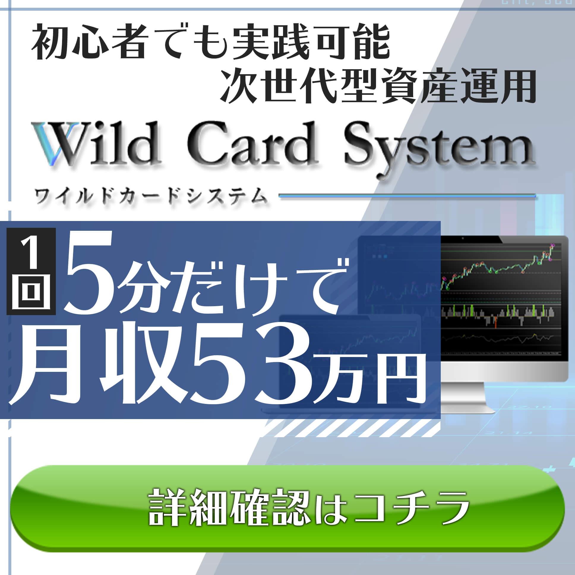 ワイルドカードシステムバナー